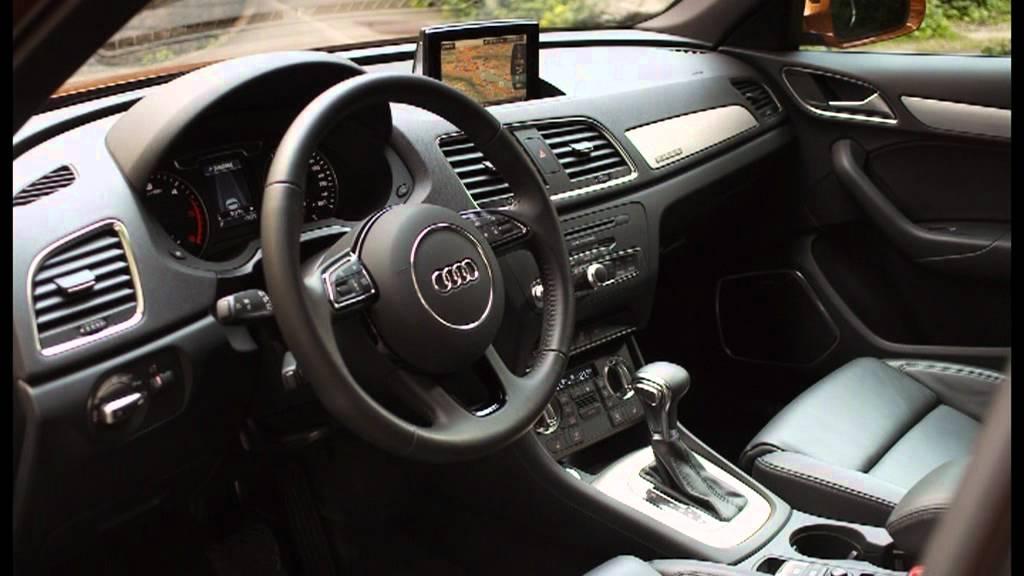 2012 Black Milano leather Audi Q3 Interior - YouTube