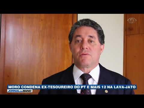 Moro Condena Ex-tesoureiro Do PT Na Lava Jato