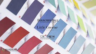 Как наносить краску Little Greene, Farrow & Ball, Paint & Paper Library