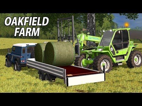 LOADING THE LAND ROVER | Farming Simulator 17 | Oakfield Farm - Episode 17