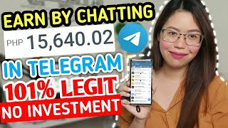 EARN FREE BY CHATTING IN TELEGRAM | EASY! EVERYDAY CASHOUT | LEGIT FREE EARNING 2021 USING PHONE