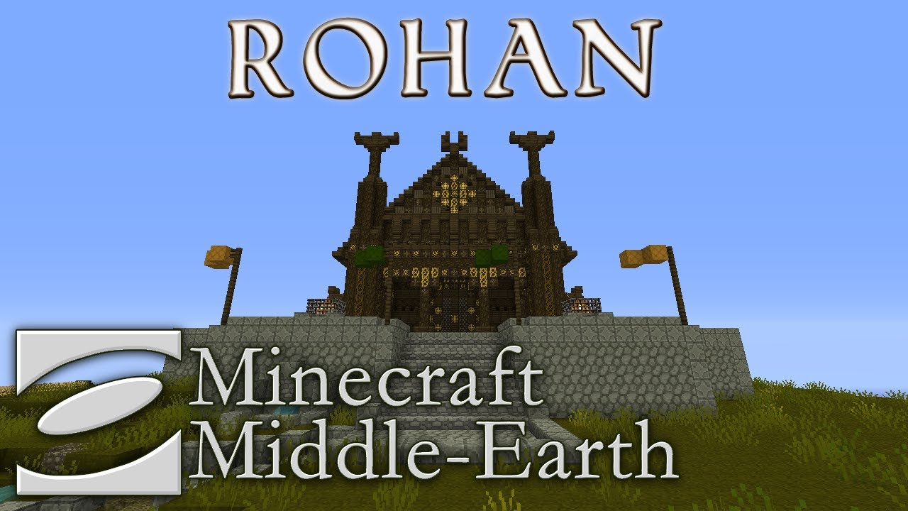 Lord Of The Rings Houses Minecraft