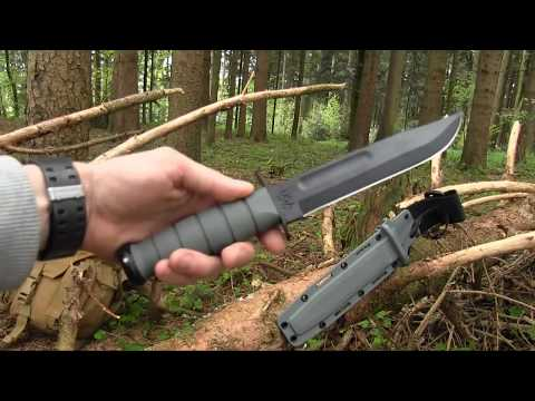 REVIEW and FIELDTEST - The KABAR USMC Foliage green