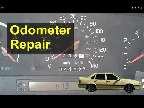 Volvo 850 Odometer Gear Repair / Replacement - Auto Repair Series