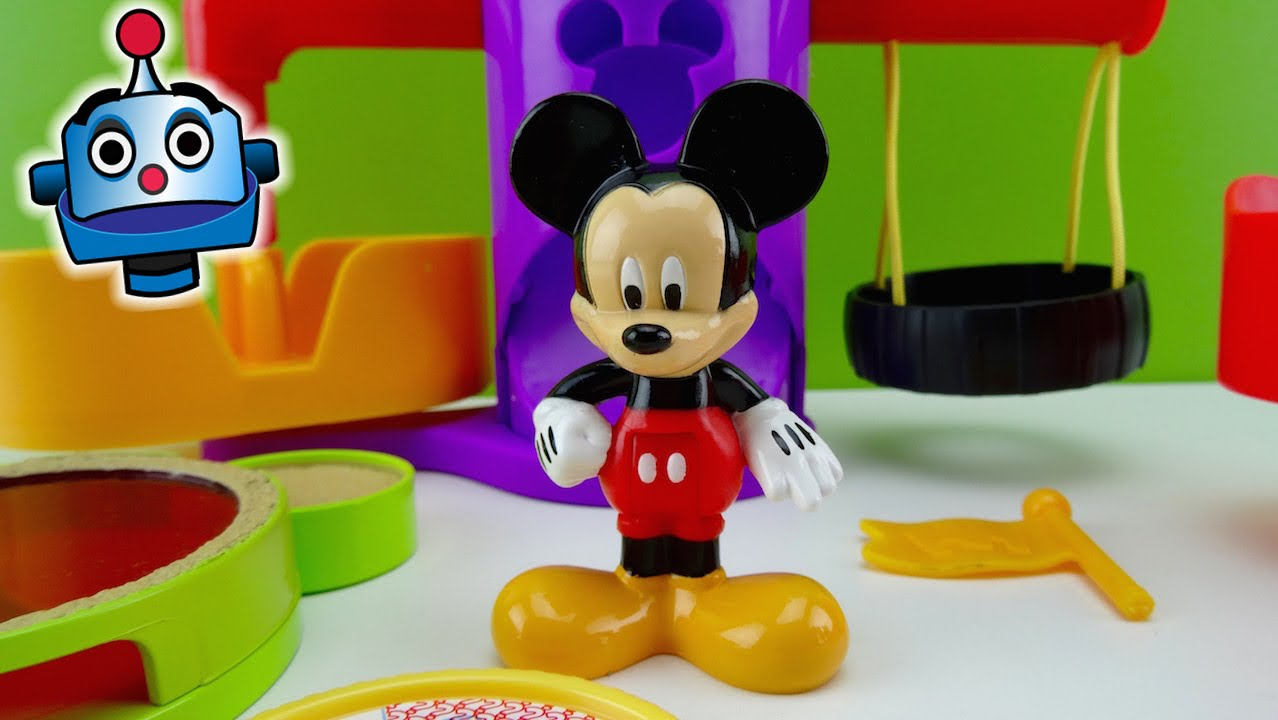 Mickey Mouse Mickeys Playground  YouTube