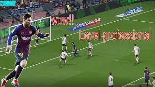 Barcelona Vs Black white - Match Level professional on game /Football gaming