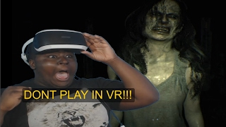 dON'T PLAY THIS IN VR! - Resident Evil 7 VR - Gameplay #2 (PSVR)