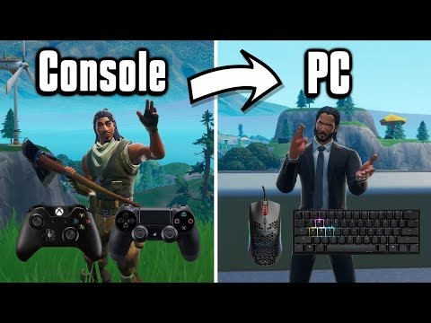 What I Wish I Knew Before Switching From Console To PC! - Fortnite Battle Royale