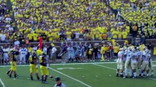 The Big House --  Michigan Stadium