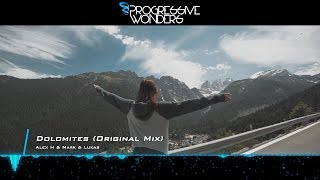 Alex H & Mark & Lukas - Dolomites (Original Mix) [Music Video] [Synth Collective]
