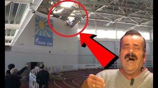 В Кирове упала часть крыши прямо во время соревнований