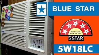 Blue Star 1.5 Ton Window AC 5 Star ( 5W18LC ) - Air Conditioners