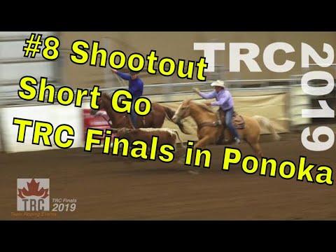 #8 Shootout Short Go, Team Roping Canada Finals 2019