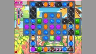 Candy Crush Saga Level 605 Basic strategy