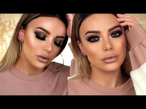 ULTIMATE GLAM: SMOKEY EYES + NUDE LIPS - Dilan Sabah