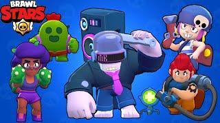 Brawl Stars - Gameplay Walkthrough Part 122 - DJ Frank vs All Brawlers (iOS, Android)