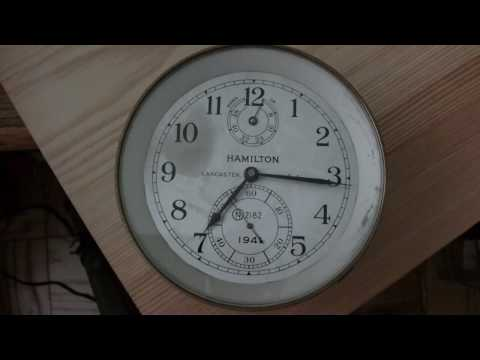 hamilton marine chronometer model 22 serial number
