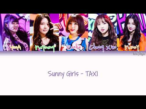 Sunny Girls (써니걸스) – TAXI Lyrics (Han|Rom|Eng|Color Coded)