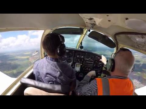 Luke Otter 1st Fly from Humberside Airport - Frank Morgan