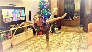 Весело кручу обруч. Танец с обручем. Художественная гимнастика. Детский канал