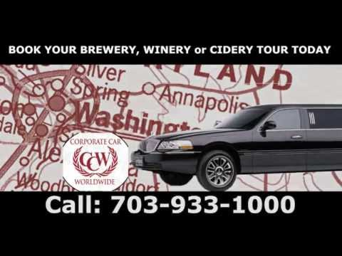 BREWERY, WINERY & CIDER Tours with CCW