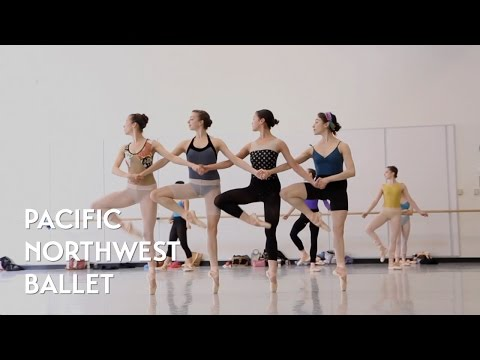 Swan Lake - Pas de Quatre (Dance of the Small Swans) rehears