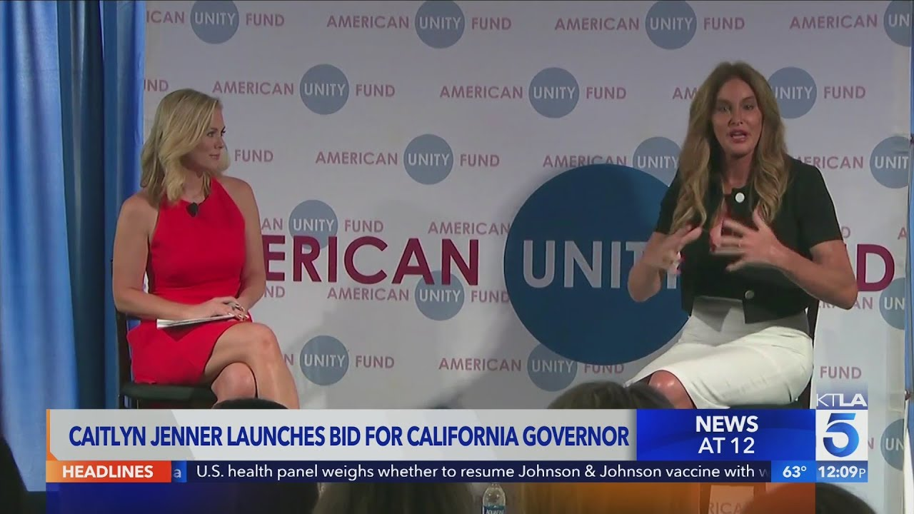 Caitlyn Jenner to Run for Governor of California