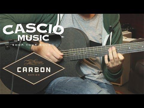 Better Than a Rosewood Guitar? | McPherson Sable Carbon Fiber Acoustic Guitar | Cascio Gear Demos