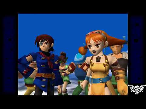 Sam's Gaming Show Live - Skies of Arcadia (Part 1)