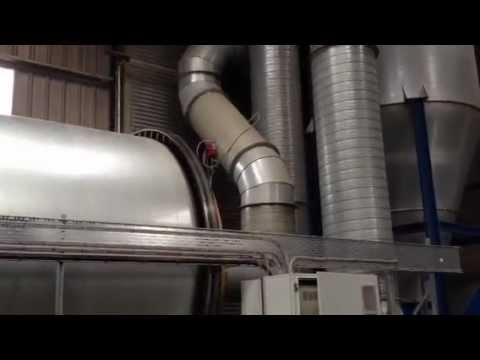 Spark Detection on a Wood Chip Dryer by GreCon