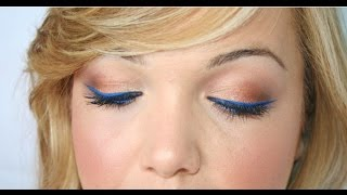 Klein Blue eyeliner♡ Thumbnail