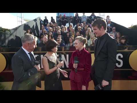 Bo Burnham and Elsie Fisher Red Carpet Interview - Golden Globes 2019 Mp3