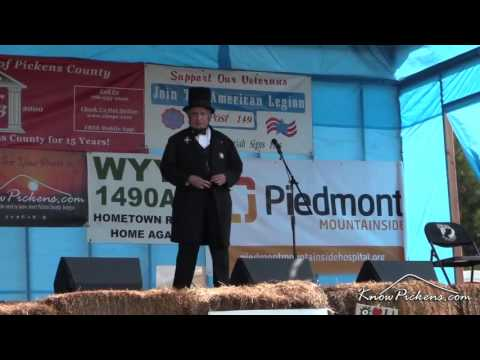 Bluegrass Charity Festival with 'Abraham Lincoln'