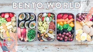 5 BENTO BOXES around the World 🌎 for #BuzyBeez