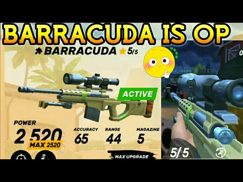 BARRACUDA -BEAST SNIPER GAMEPLAY  GUNS OF BOOM