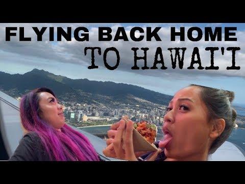 FLYING BACK HOME TO HAWAII!! I Was Homesick Lol... | SHERLLY GAMA