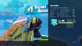 Fortnite Ravage Skin 15 Kill Solo Gameplay PS4