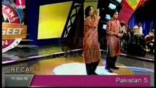 Sunny Vicky Tere Ishq Nachaya Pakistan Sangeet Icon 1 Episode 6