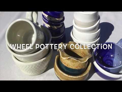Hand made Wheel pottery 2018
