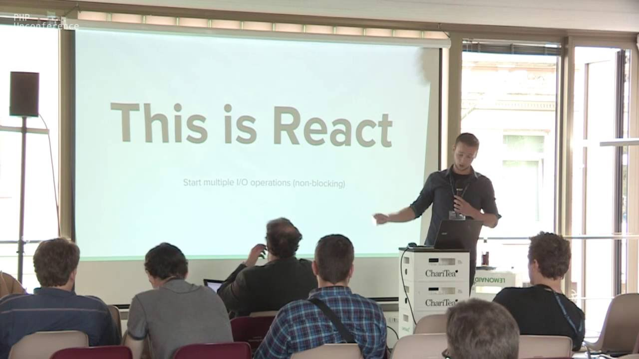 Pushing the limits with React PHP - Christian Lueck