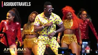 Diamond Platnumz and Tiwa Savage perform together at AFRIMMA Awards 2017
