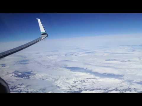 First Class Alaska Airlines 737 800 Seattle Denver