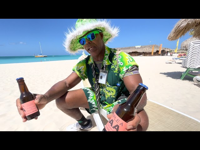 ARUBA- EXCLUSIVE ONLY ARUBA ALOE MAN INTERVIEW 02-06-21 & ITS GOOD FOR LIONFISH STINGS
