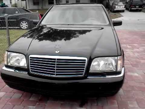 1999 mercedes benz s class s320v w140 one owner florida for 1999 mercedes benz s class