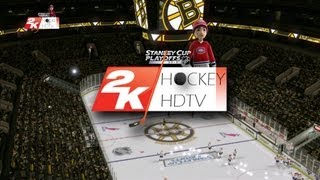 NHL 2K10: 2013 Playoffs CANADIENS v.s. BRUINS (broadcast 1080p)