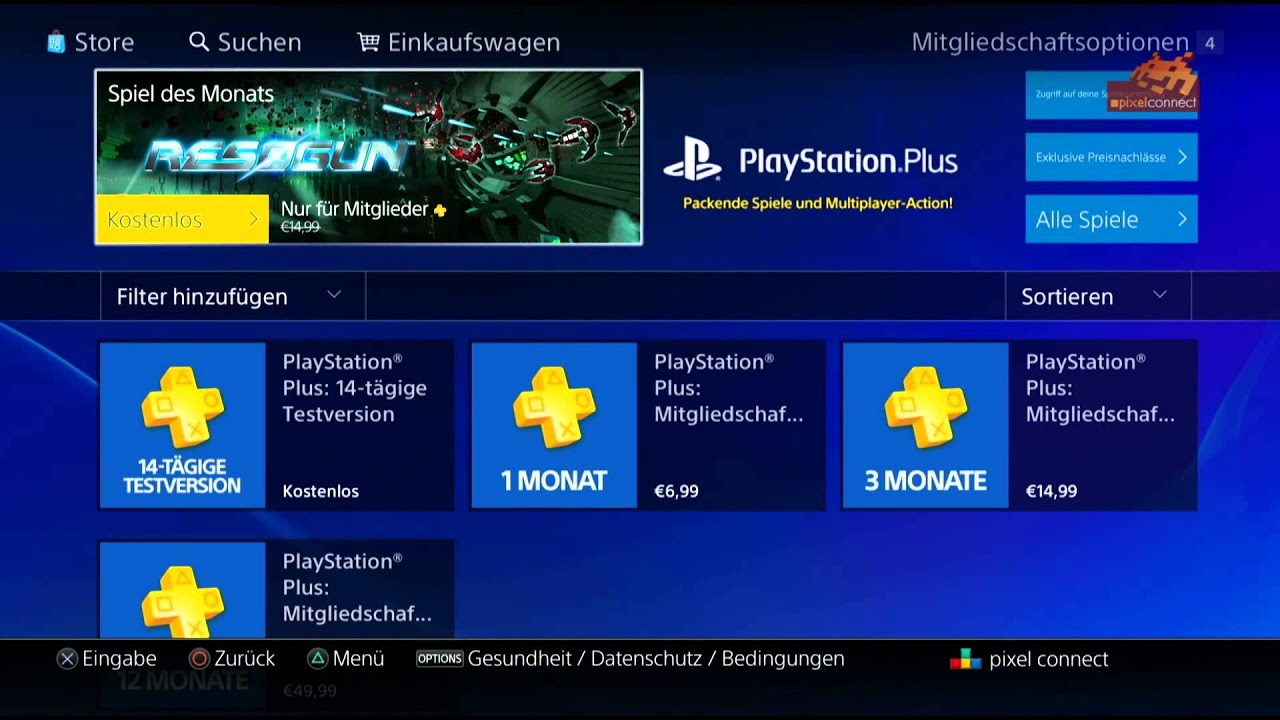 how to cancel playstation plus online ps4