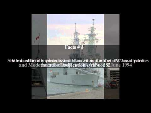 HMCS Athabaskan (DDG 282) Top # 5 Facts