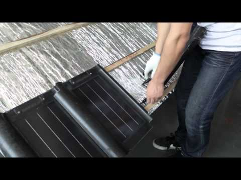 installation for heda solar rooftop tile (menu version-Chinese )