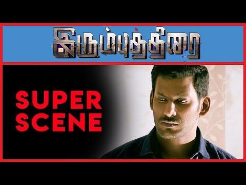 Irumbu Thirai - Super Scene 10   Vishal  ...
