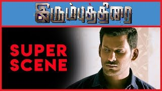 Irumbu Thirai - Super Scene 10   Vishal   Arjun Sarja   Samantha Akkineni